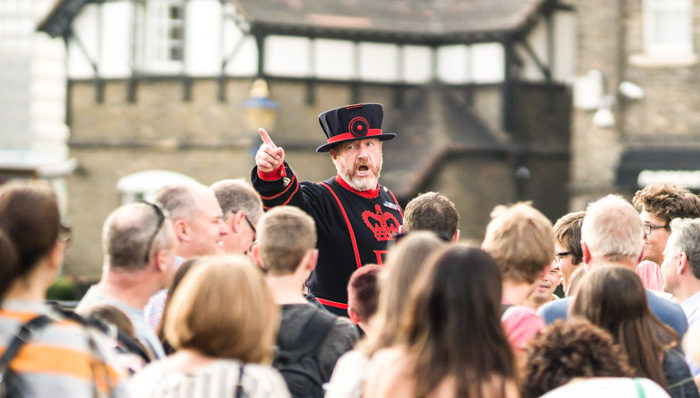 Yeoman Warder at the Tower of London