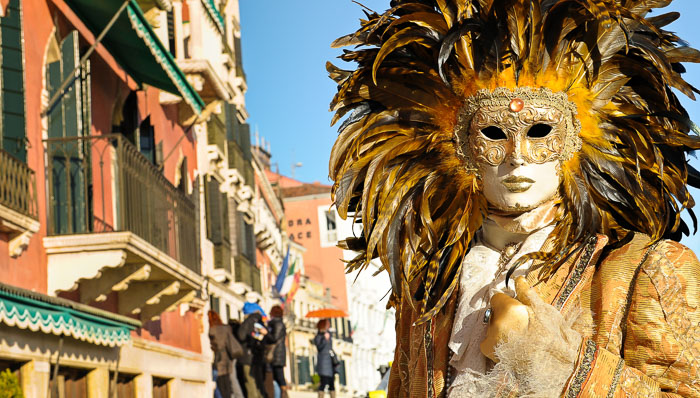 Masks are part of the local culture. Visit Venice during carnival is an unforgettable experience!