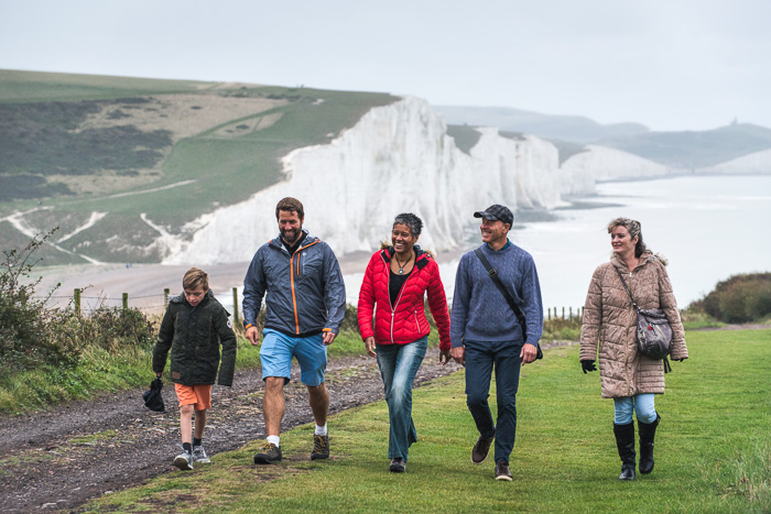 Cider tasting and the Seven Sisters in the South Downs