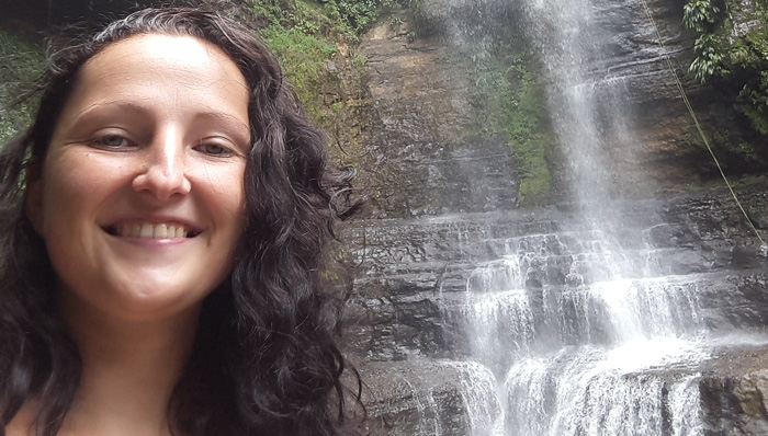Waterfall hike in Nicaragua turns out to be the perfect birthday