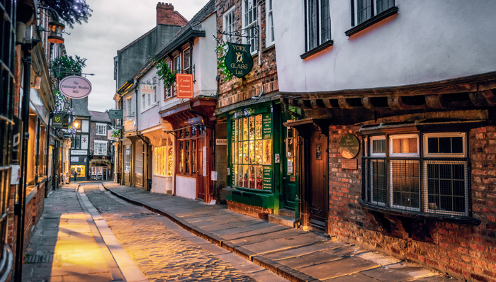 The Shambles, an inspiration for the Diagon Alley - York, UK