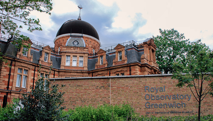 The historic Royal Observatory Green - The home of time and space - London, UK